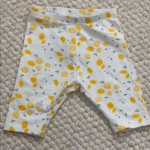 Zara Baby Lemon Capris